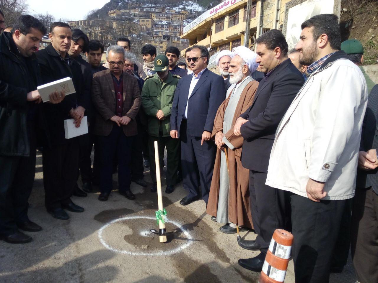 ویژه برنامه سی و نهمین سالگرد پیروزی انقلاب و افتتاح طرحهای گردشگری و فرهنگی در ماسوله