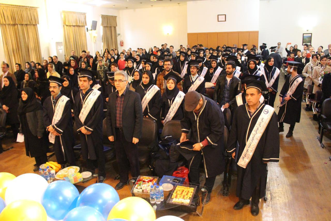 جشن دانش آموختگان دانشکده پرستاری و مامائی شهید بهشتی گیلان