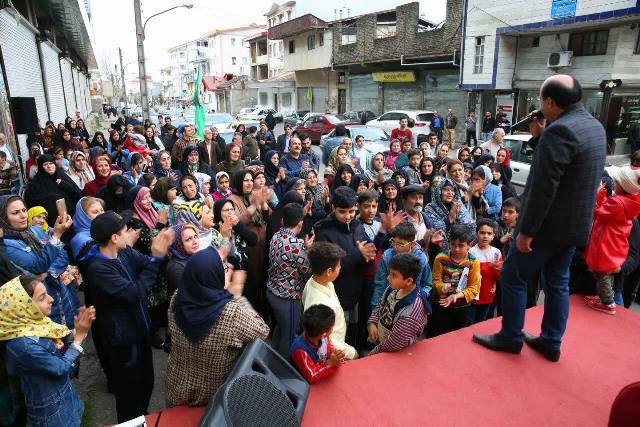 مراسم اختتامیه جشن« امی محله » در محله معلولین رشت برگزار شد+تصاویر
