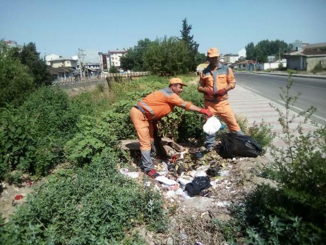 هفته دهم طرح پاکسازی هفتگی محلات شهر رشت توسط حوزه مدیریت خدمات شهری شهرداری