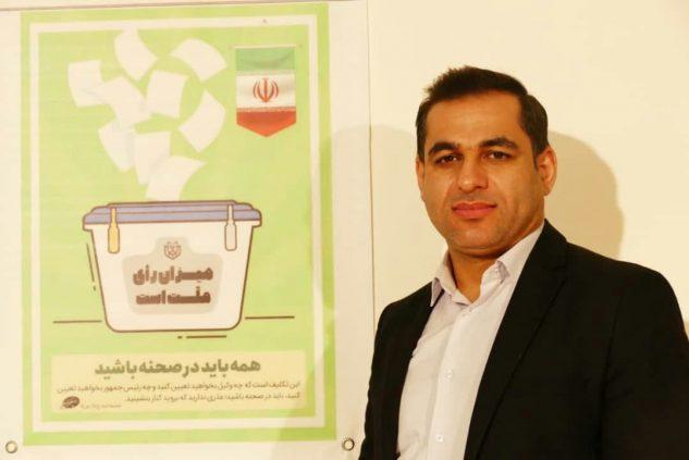 امید حبیبی کاندیدای انتخابات شورای شهر رشت شد