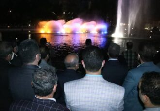 افتتاح بزرگترین آبنمای موزیکال کشور در شهر رشت /فاز تکمیلی پروژه آبنمای موزیکال بوستان ملت تا پایان تیر ماه راهاندازی میشود
